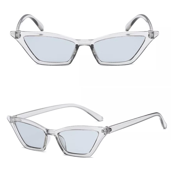 Accessories | New Skinny Vintage Cateye Sunglasses | Poshmark